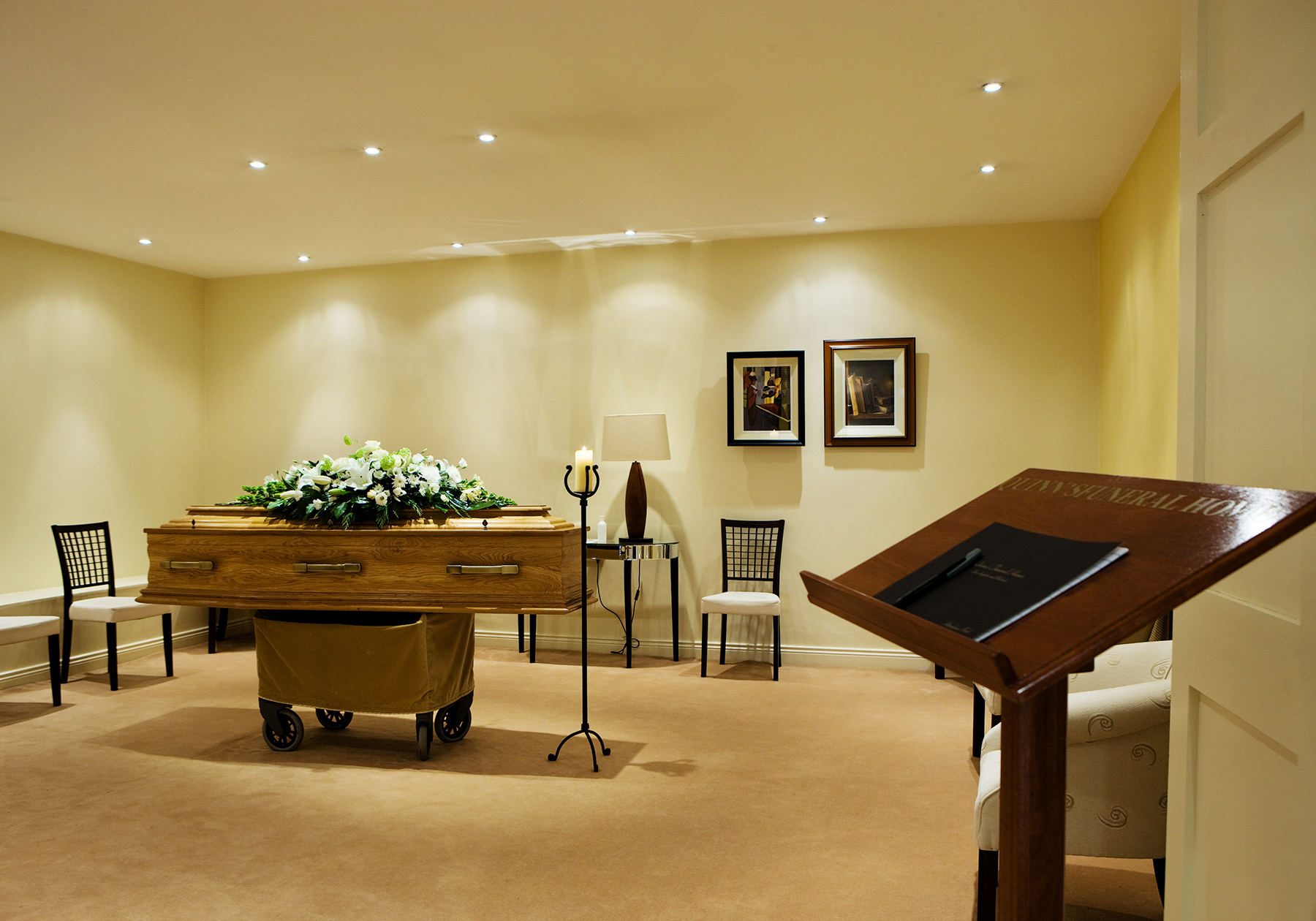 Interior Design For Funeral Homes