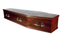Standard Range Basic Flat Lid Coffin From Quinns of Glasthule Funeral Home Directors