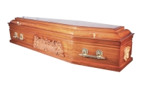 Superior Range Arran Coffin From Quinns of Glasthule Funeral Home Directors
